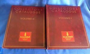 Lladro Collectors Society Catalogue Volumes   l and ll     1944 - 1996