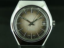 Gents NOS Vintage Lincoln Automatic Watch Circa 1970s Swiss New Old Stock