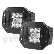 "2PCS 4.8"" 96W 9600LM Combo Flood Work Light Cube pods Fog Lamp Driving Light"