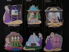 Disney WDI Rapunzel From The Movie Tangled At Disneyland Set of 6 Pins LE250