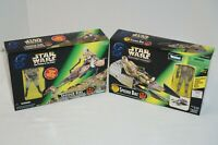 Star Wars Kenner Power Of The Force Speeder Bike Rebel Pilot Leia Figures - New