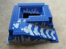 LEGO 3D PLATTE BAUPLATTE GRUNDPLATTE 25,5 x 25,5 CM Eis Schnee Weiß für Set 6983