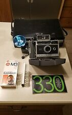 Polaroid 330 Automatic Land Camera with Case and Accessories