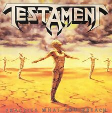 TESTAMENT PRACTICE WHAT YOU PREACH CD ALBUM (1989)