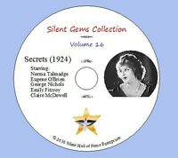 "DVD ""Secrets"" (1924) Frank Borzage, Norma Talmadge, Eugene O'Brien,Classic Drama"
