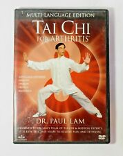 2002 Tai Chi for Arthritis DVD Dr. Paul Lam Language Option 790658007550