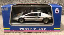 Eidai Grip Maserati Boomerang Silver 1:43 Scale No 980 Made In Japan W/Box