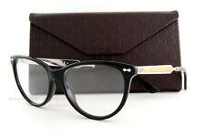 Brand New GUCCI Eyeglass Frames 3818 CSA Black Palladium For Women