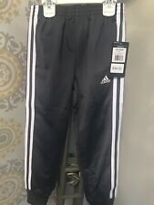 Adidas Athletic Pants Gray With White Stripes Size 6