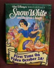 Disney Snow White & Seven Dwarfs First Time on Video Button