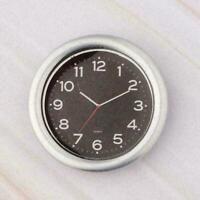 Retro Wooden Furniture Wall Clock 1/12 Dollhouse Miniature-Decor A0L9 O9B6 Q5O8