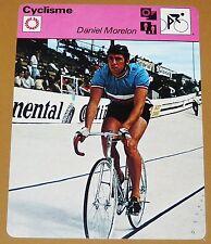 CYCLISME CICLISMO DANIEL MORELON FRANCE PISTARD VITESSE CHAMPION MONDE JEUX JO