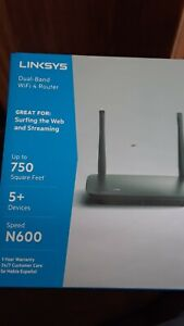 Linksys Dual Band WiFi 4 Router