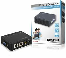 Konig PC to TV Converter VGA - VGA / S-Video / RCA up to 1366 x 768