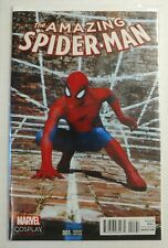 Amazing Spiderman #1 Cosplay Variant Cover Marvel 2015