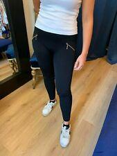 Spesso Caldo Leggings Donna Nero Pantaloni Comodi Pantaloni Stretch Jeggings