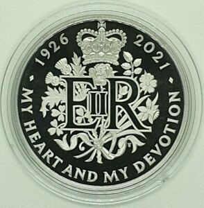 Royal Mint - 2021 Queen Elizabeth 95th Birthday Proof £5 Coin - Five Pound Crown