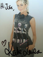 6x4 Hand Signed Photo of Big Brother 3 Star - DJ Kate Lawler