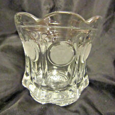 """Coin Glass 4"""" Bowl or Spooner by Fostoria Glass Co."""