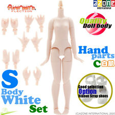 AZONE 1//6 Pure Neemo FLECTION XS White body /& Flocked Head parts Blue Hair Doll