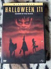 Halloween III/ Season Of The Witch- DVD - WS - John Carpenter