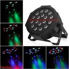 LAMPADA STROBOSCOPICA 18 LED RGB DMX FARO LUCE EFFETTO STROBO DA DISCOTECA DJ