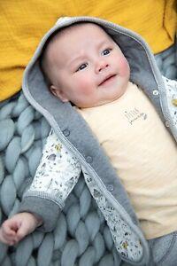 Feetje Baby-Jungen Jacke Sweatjacke mit Kapuze Hi There