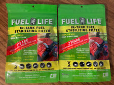 2 Packs (10) Fuel Life In-Tank Fuel Stabilizing Filters for 2 & 4 cycle engines