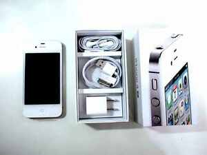 iPhone 4S 16GB Unlocked White + 1-Year Warranty TMobile Straight Talk Metro PCS