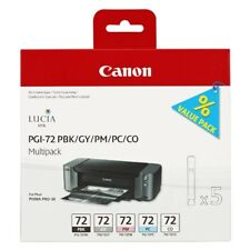 Canon PGI-72 gris, negro, Foto cian, Foto Magenta cartucho de la foto