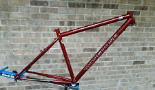 Nos 90's Mongoose Crossway Hybrid Commuter Steel Frame 700c Cantilever Retro 1a