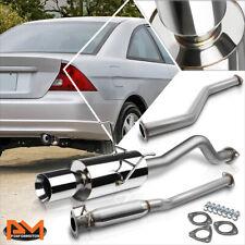 "For 01-05 Honda Civic Ex 1.7L Em/Es 4"" Rolled Tip Muffler Catback Exhaust System"