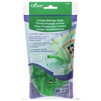 Clover Jumbo Wonder Clips 24 Pack