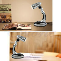 New Portable Flexible 12 LED Desk Lamp Light Torch Battery Powered Cordless