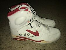 Will Perdue Chicago Bulls Vintage 1980s 1990s Signed Nike Air Force Shoe Size 19