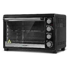 Devanti ECONHP45LBK 45L Electric Convection Oven Benchtop Rotisserie Grill - Black