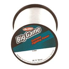 New! Berkley Big Game ¼ lb Custom Spools - Clear -15 lb. test 1068348