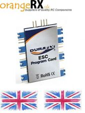 Durafly PNF ESC Programming Card Blue for ESC Retro Series UglyStik   EFX Racer