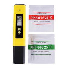 Digital PH Wert Wasser Messgerät Messer Tester Prüfer Tool 0-14PH LCD BI575