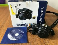 Sony Cyber-shot DSC-H10 8.1MP Digital Camera Black  optic zoom 10x  CAMERA ONLY