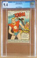 CAPTAIN ATOM #3 CGC 9.4 Nationwide comics 1951 2nd highest graded copy