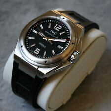 IWC INGENIEUR MISSION EARTH IW323601 46MM BLACK DIAL MINT!