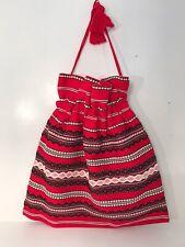 traditional Romanian Drawstring Hand made Bag