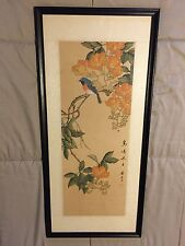 Antique Chinese Paint Framed - Fung Ri