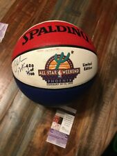 CHARLES BARKLEY Signed NBA All Star Basketball Autographed 76ers Suns JSA COA