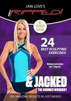 JARI LOVE GET RIPPED AND JACKED NEW SEALED WORKOUT EXERCISE DVD