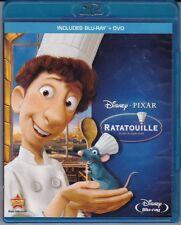 Disney Ratatouille Blu ray DVD Combo Pak OOP Artwork