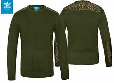 Men's Adidas Knit Crew Sweater / Jumper - M69362
