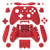 Red Xbox One S X Controller Full Custom Replacement Shell Mod Kit w/ Buttons
