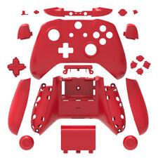 Red Matt Full Custom Shell Case Housing Buttons for Xbox One S X Controller